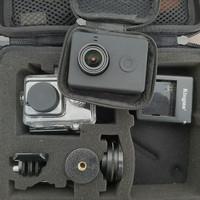 yi action camera xiaomi + Box + aksesoris