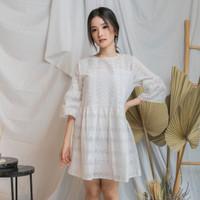 Dress bahan katun kasual EVRIDAY CLOTHING / Yucca Dress