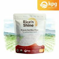 rise 'n shine tepung beras merah organik - 250gr