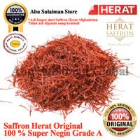 Saffron Afghanistan Herat Premium Super Negin Grade A Per Helai