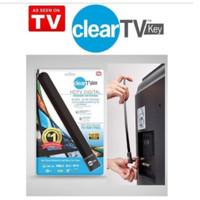 ANTENA CLEAR VISION TV KEY HDTV INDOOR INDOR DALAM DIGITAL JERNIH TV