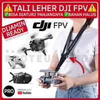 ✅ TALI LEHER REMOTE DJI FPV COMBO STRAP LANYARD GANTUNGAN HOOK DRONE