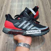 Sepatu Adidas Ultra Boost Guard Black Red Grey