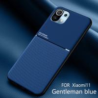 Case Xiaomi Mi 11 Original SoftCase IQS DESIGN Casing m11 - Biru