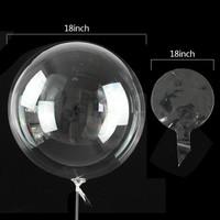 Balon PVC Transparant / PVC Balloon 18 inch DBCY High Quality