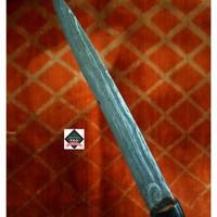 Aksesoris Budaya Bugis Makassar Pusaka Kawali badik Luwu tua BC 097