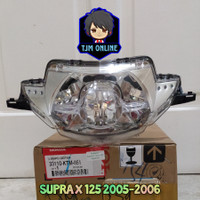 REFLEKTOR LAMPU DEPAN SUPRA X 125 2005 2006 33110-KTM-881 ORIGINAL AHM