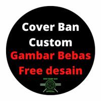 Cover/Sarung Ban Serep Hardcover Gambar Custom Murah Rush Terios
