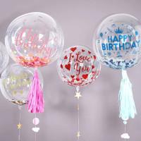 Balon PVC Transparant / PVC Balloon 24 inch DBCY High Quality