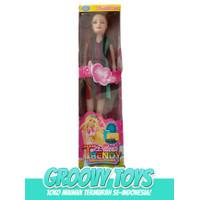 Mainan Anak Boneka Barbie - Barbie Delicate Trendy Girl Fashion B 714