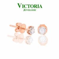 Anting Berlian VER588560 Victoria Jewellery