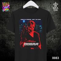 Kaos Distro Baju Jadul Lawas 80an 90an N - Black Premium 24s S-XXL
