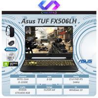Asus TUF FX506LH GTX1650 4GB i5 10300 8GB 512ssd 15.6FHD IPS 144Hz W10
