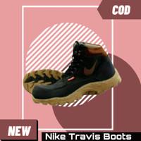 Sepatu Pria Nike Travis Boots Safety Tracking Hiking Kerja Proyek naik - cream, 39