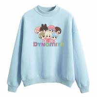 Baju Sweater Jumper Anak Perempuan Laki BT21 Bts Dynamite Kekinian
