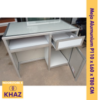 Meja Alumunium / Meja Kantor / Meja Anti Rayap / Meja Minimalis