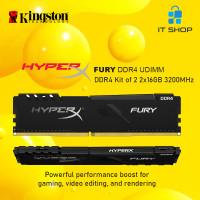 Kingston HyperX Furry DDR4 32GB Memory for PC (16GB x 2) 3200Mhz