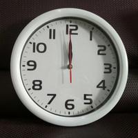 Jam dinding 28cm gambar polos
