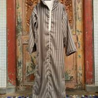 Djellaba morocco/jubah maroko/baju sholat/gamis kaftan hoodie semiwool