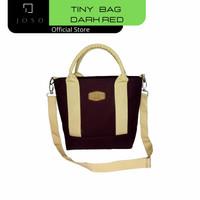 Joso New Tiny Bag Tas Selempang Wanita Jinjing Bahu Kanvas R01