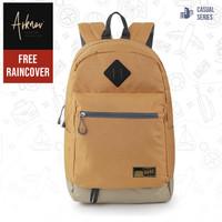 Tas Punggung Laptop Pria Backpack Original Distro Gratis Raincover
