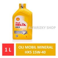 SHELL HELIX HX5 15W-40 OLI MOBIL 1 LITER ORIGINAL