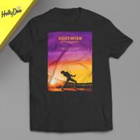 Kaos Queen Bohemian Rhapsody Band T-Shirt