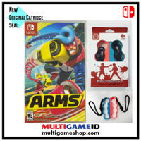 Switch ARMS +Boxing Strap Red/Blue English MDE US Cover