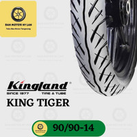 Ban Motor Kingland King Tiger Ring 14 90/90 Tubeless