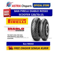 Pirelli Diablo Rosso Scooter 120/70-15M/CTL 56S DRScoF (Depan) (276880