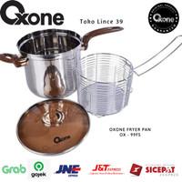 OXONE Fryer PAN Jumbo OX-99FS Stainless Steel Panci Jumbo Fryer  NEW  