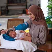 PAKET TERAPI BANTAL ANTI PEYANG & HAND PILLOW BABY CLOUDFOAM - Biru Muda