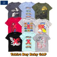 T-shirt Boy Baby GAP - Kaos Anak Laki size 1-5 tahun Bagus Murah