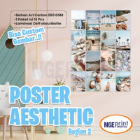 [16PCS] Poster aesthetic wall collage wall art wall poster aesthetic Z