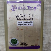 Bali Tangi Massage oil 1 liter