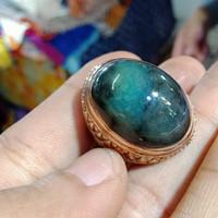 cincin batu bacan Doko super asli natural barang lawas