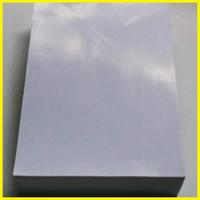 Jual kertas Art Paper/Karton kilap glossy 2 sisi putih 190 - 260gsm u