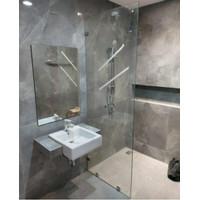 sekat kaca kamar mandi