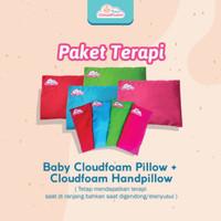PAKET TERAPI BANTAL ANTI PEYANG & HAND PILLOW BABY CLOUDFOAM