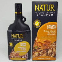 NATUR SHAMPO GINSENG EXTRACT ANTI HAIR FALL 140 ml