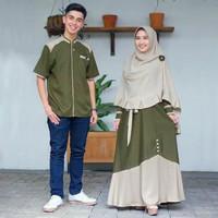 Couple Muslimah Terbaru Baju Gamis Lebaran