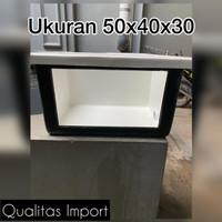BAK FIBER/ KOLAM FIBER 50X40X30+ kaca