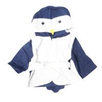 Bebiso - Cute Baby Bath Robe - Penguin