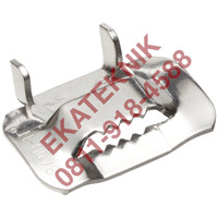 IDEX BAND-IT STAINLESS STEEL 201 3/8 EAR-LOKT BUCKLE C25399 C253