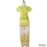 Baju Tidur Wanita Remaja Kaos Celana Panjang