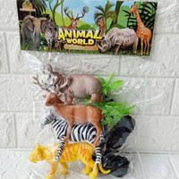 Animal kingdom animal world / miniatur hewan hutan / binatang figure