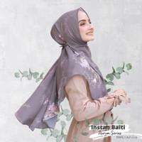 Hijabwanitacantik - Instan Baiti Aurum Ash Grey   Hijab Instan  