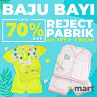 Termurah Set Baju Celana Bayi Reject Miror Pabrik Bahan Katun