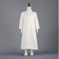 Baju Muslim Anak / Jubah Anak laki laki / Gamis Anak / Baju MUslm Anak - Putih, 2-3 tahun