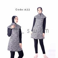 Baju renang wanita muslimah dewasa/pakaian renang muslim perempuan